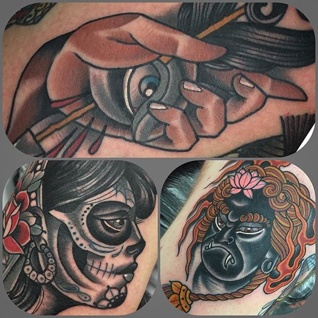 Contemporary Traditional Tattoos by Myles Vear