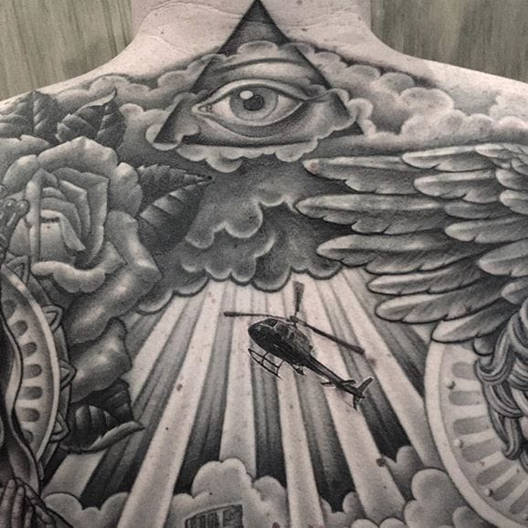 The Most Beautiful Black & Grey Tattoos By Chuey Quintanar