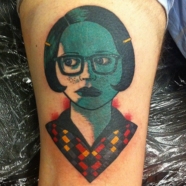 Pin By Kerry Eccles On Tattoos: 25 Original Comics Strips Tattoos