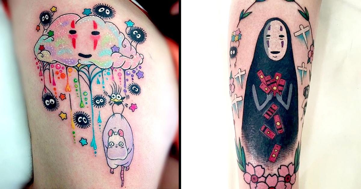18 lovable spirited aways noface tattoos tattoodo