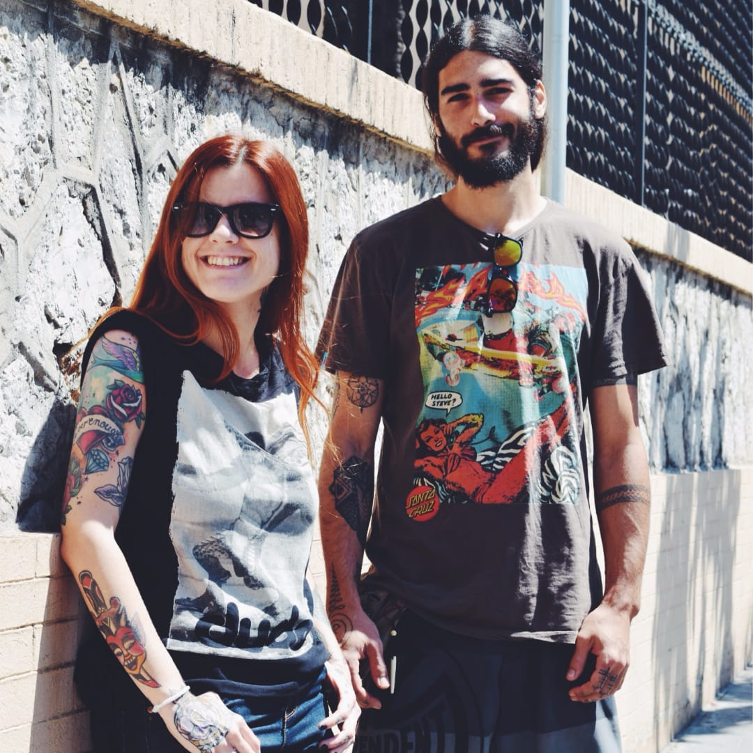 Streets of Barcelona - Full of Impressive #StreetStyle Tattoos