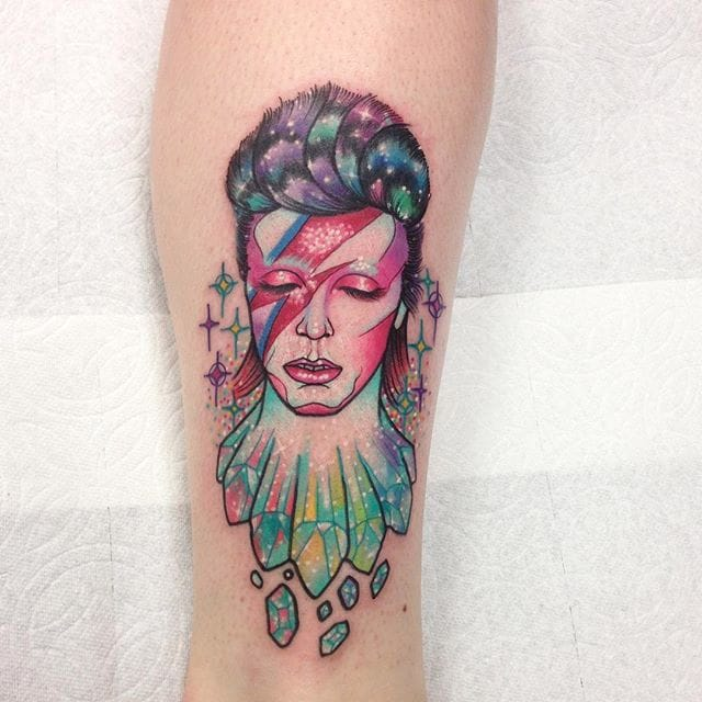 The Vibrant, Spirited Tattoos of Pinkworker Roberto Euán