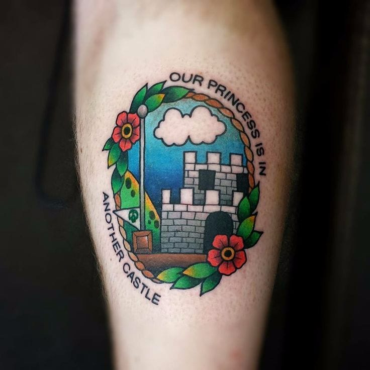 18 Super Mario World Tattoos That Are Slaying The Boss Stage