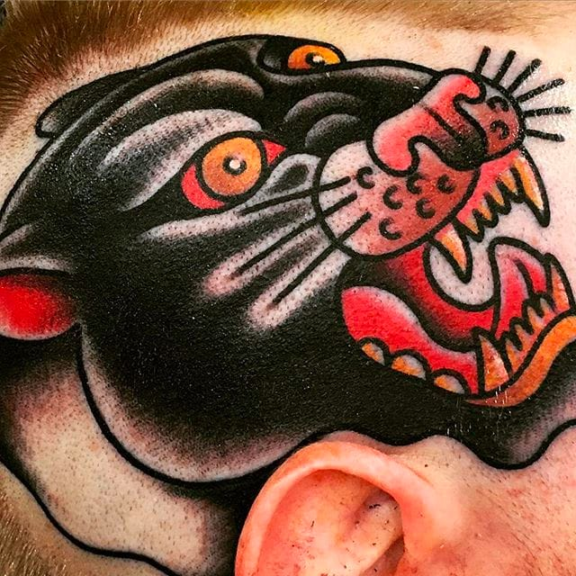 Clean And Bold Traditional Tattoos By Shannon Hodgkin