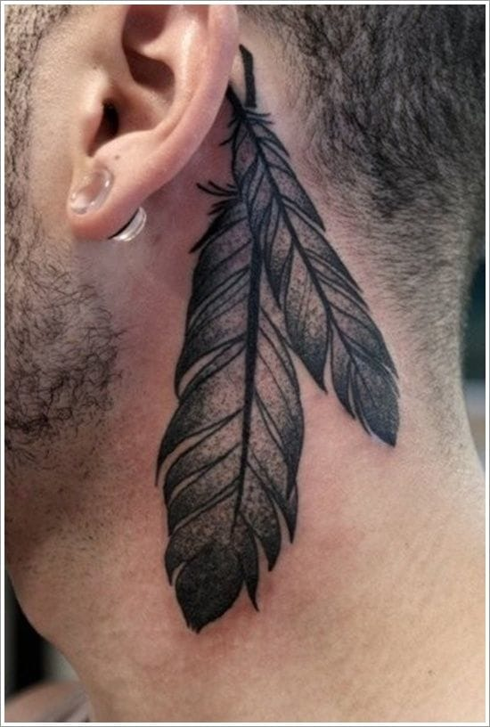 Native American Feather Piece - Artist Unknown