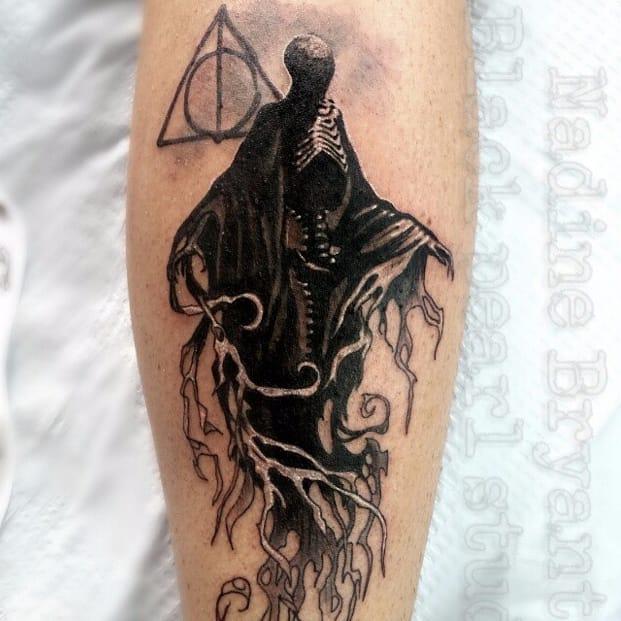 8 Dark And Deadly Dementor Tattoos