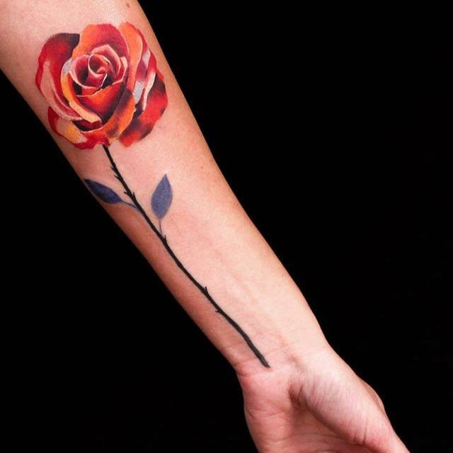 Creative Graphic Tattoos By Federica Stefanello