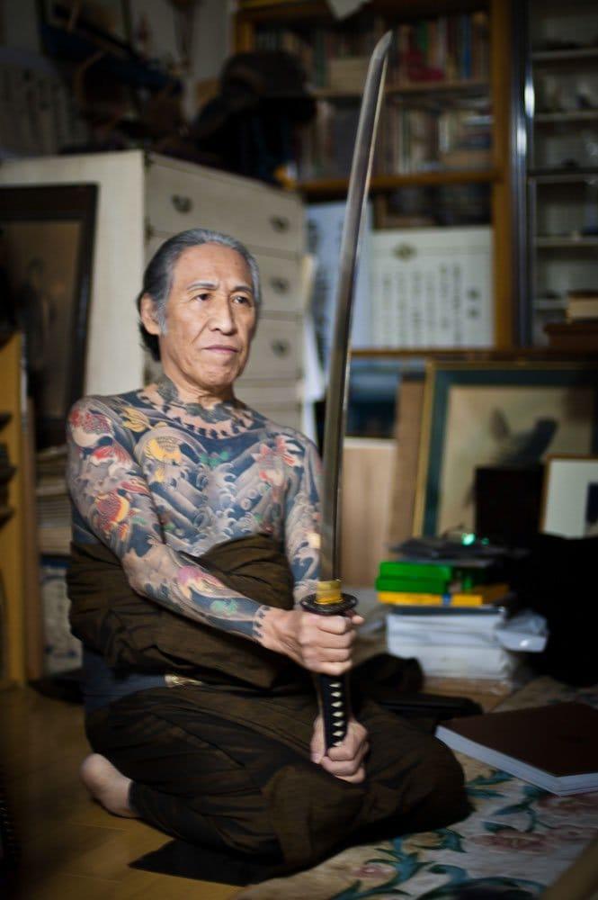 #tattooedgrandpa #oldschool #traditional #japanese