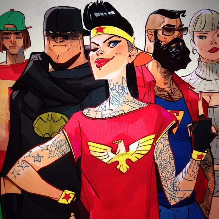 The Tattoo Inspired Comics Illustrations Of Otto Schmidt