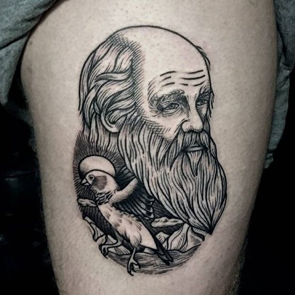 Refined Illustrative Tattoos by Nick Whybrow