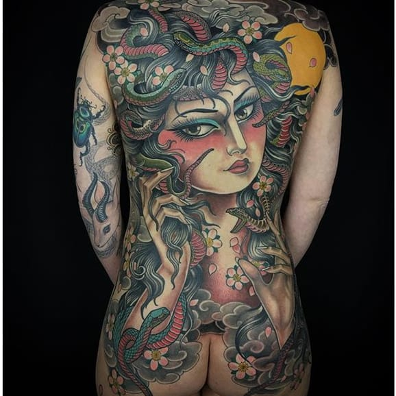 GIRLS GIRLS GIRLS: Lady-Themed Backpieces By Claudia De Sabe
