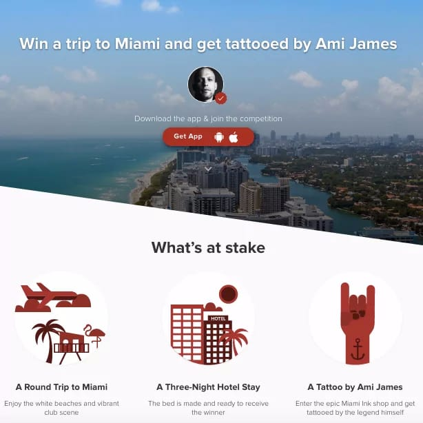 Win a Trip to Miami to Get Tattooed by Ami James!