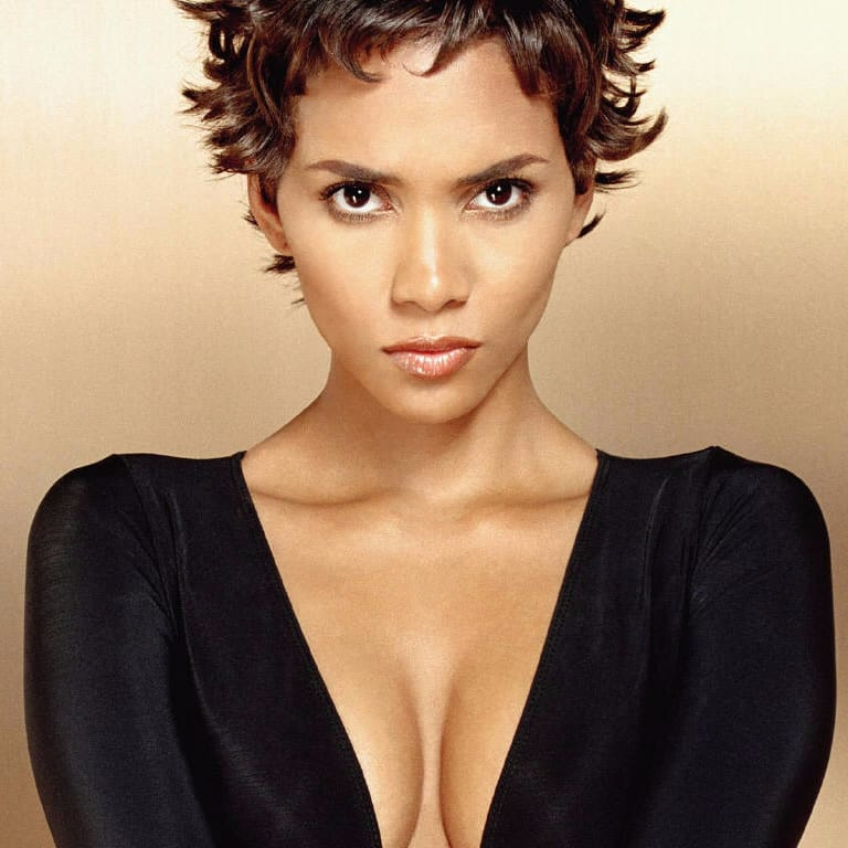 Halle Berry Gets A Sick Undercut Hair Design!