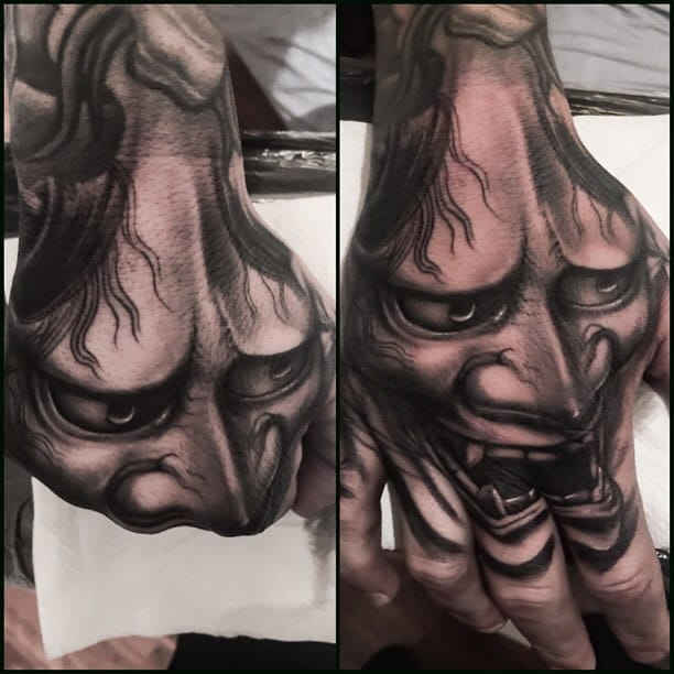 Marvelous Black and Gray Tattoos by Tye Harris