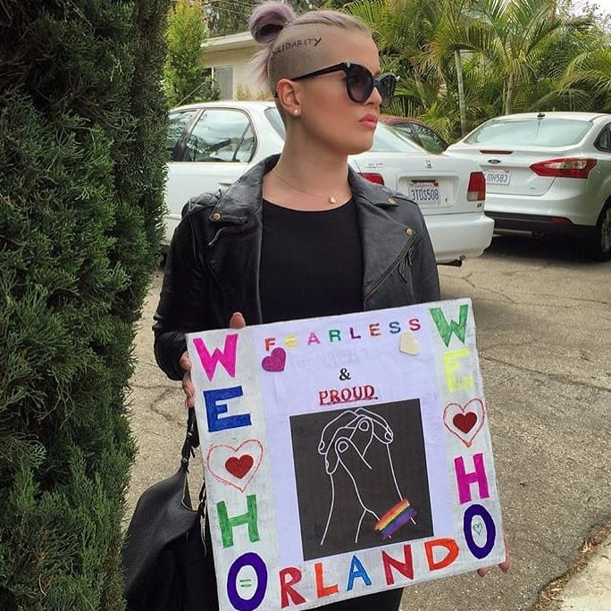 Kelly Osbourne Honours Orlando Shooting Victims With Head Tattoo