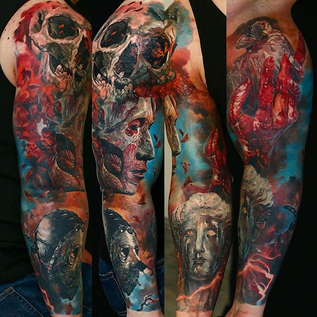 Exceptional Realism Tattoos by Domantas Parvainis