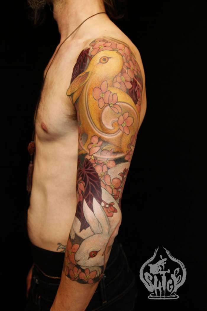 Gorgeous Japanese sleeve by the master Shige! Wow!