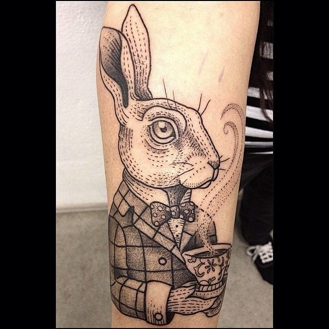 Would you take the tea with the March Hare? By Susanne König.