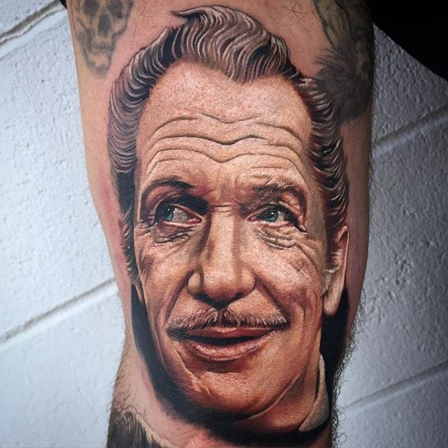 An Acting Icon In ink: 10 Great Vincent Price Tattoos