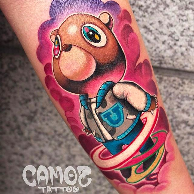 Stunning Colorful Tattoos by Camoz