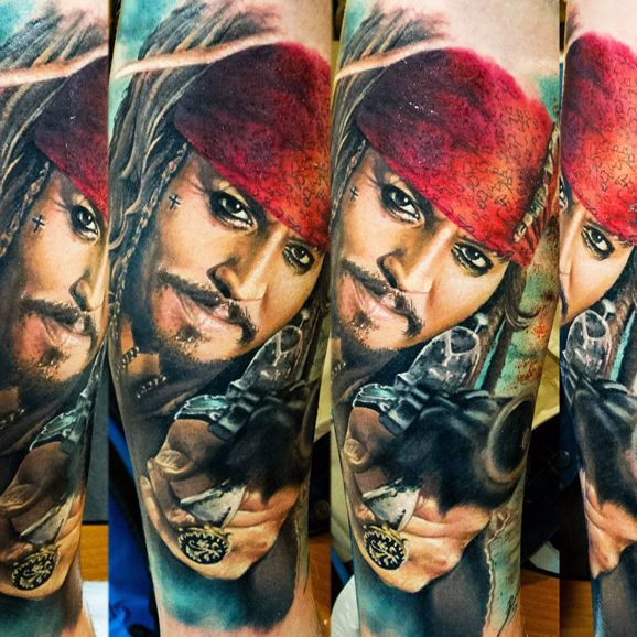 Weigh Anchor With These Pirates of the Caribbean Tattoos