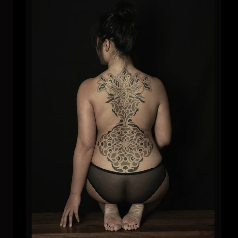 The Geometric Dotwork Tattoos Of Wa Wong