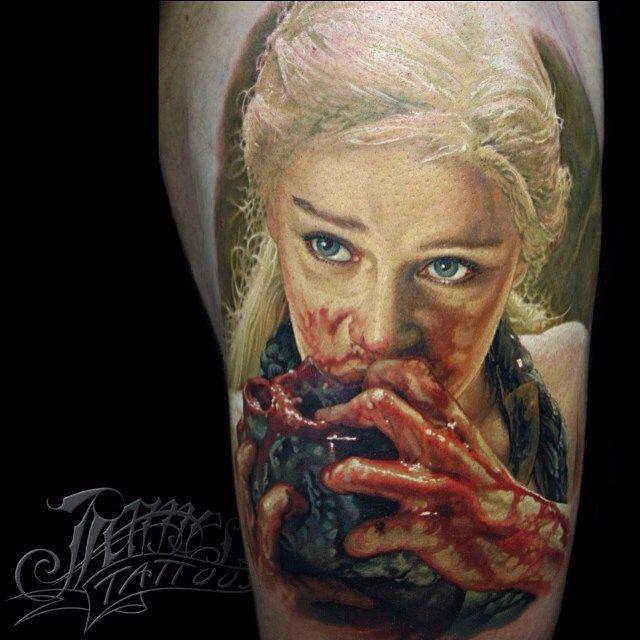 11 Amazing Portraits by James Tattoo Art