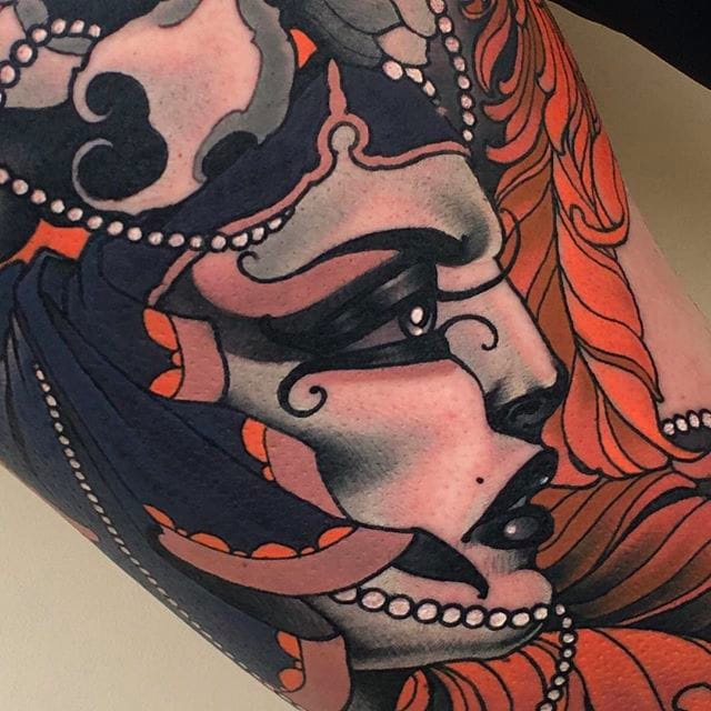 Clean and Smooth Neo Traditional Tattoos by Emily Rose Murray