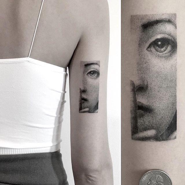 The Stunning Fine Line Tattoos Of Mr. K