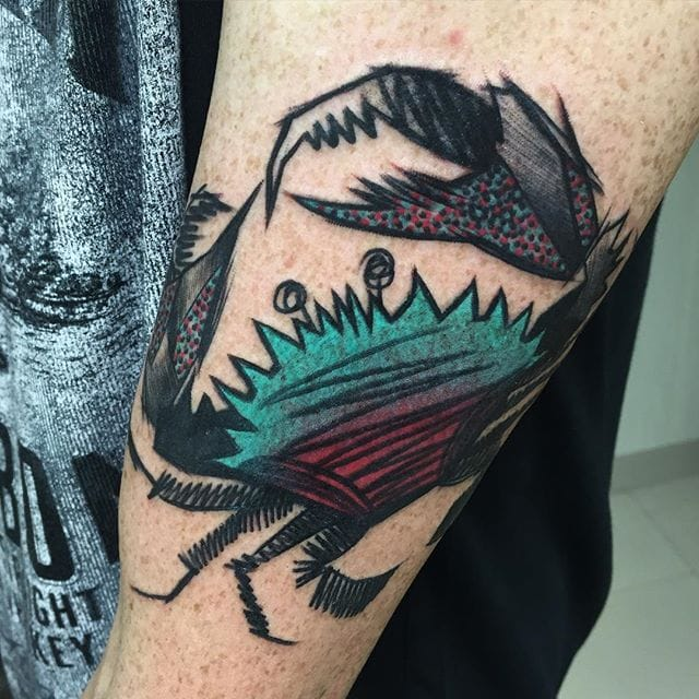 Abstract Brilliant Tattoos by Tayri Rodriguez