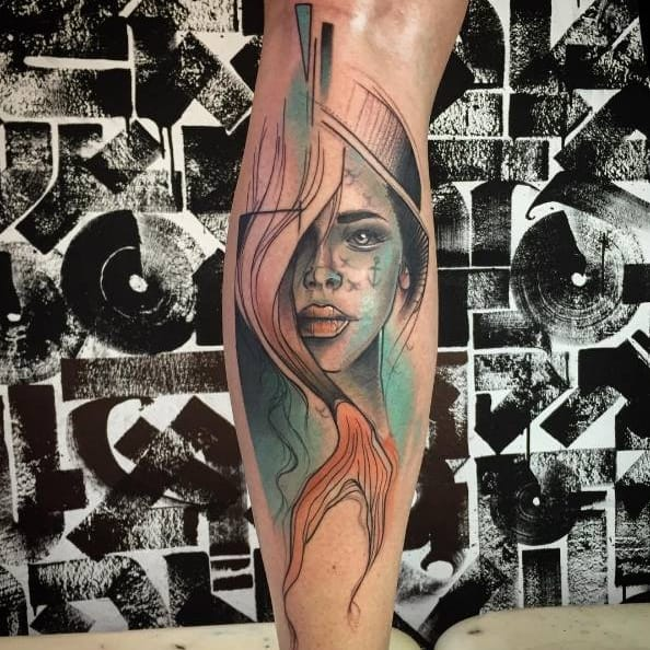 The Contemporary Style Tattoos Of Julian Hets