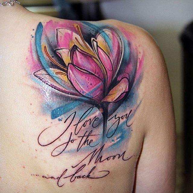 11 Tantalizing Tulip Tattoos