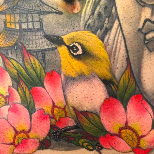 Incredible Japanese Style Tattoos By Calle Corson