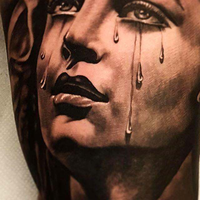 Nathan Hebert's Incredible Black And Grey Tattoo Work