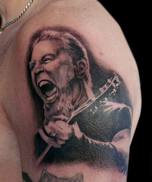 James Hetfield by Henry.