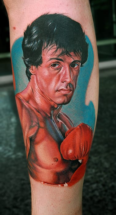 A great tribute to Rocky, by Cecil Porter (USA)