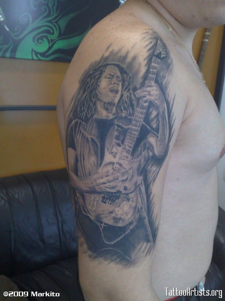 Kirk Hammett - Done by Markito.
