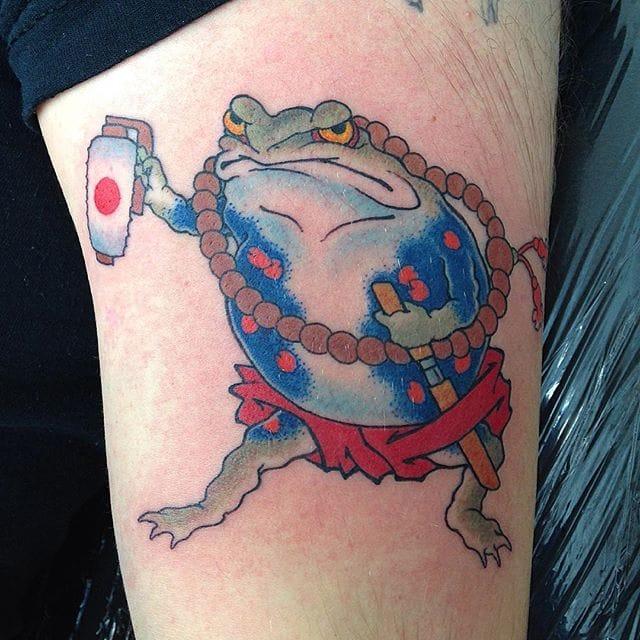 10 Funny Frog Tattoos