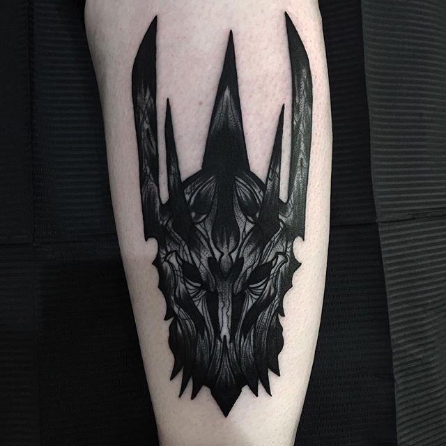 10 Sinister Sauron Tattoos