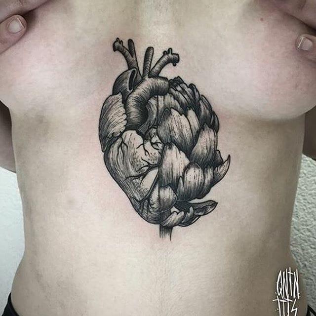 10 Hearty Artichoke Tattoos