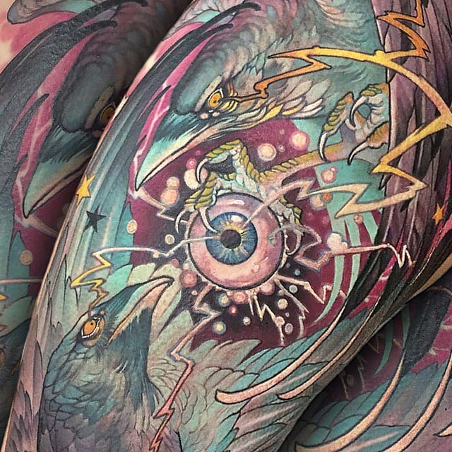 More Illustrative Neo Traditional Tattoos By Teresa Sharpe