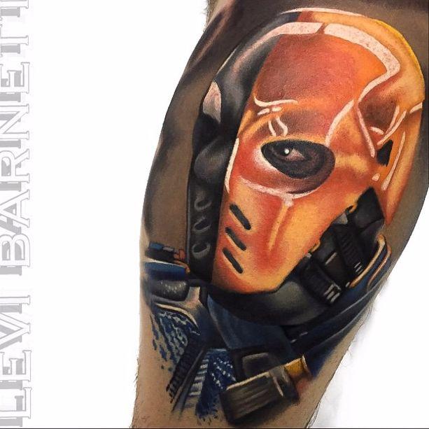 10 Relentless Deathstroke Tattoos