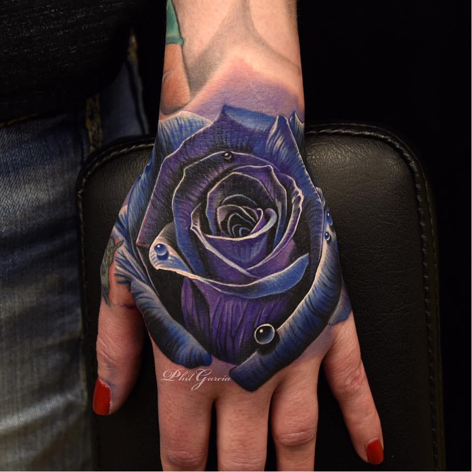 16 Tatuagens Realistas Do Mestre Das Flores Phil Garcia (Parte 2)
