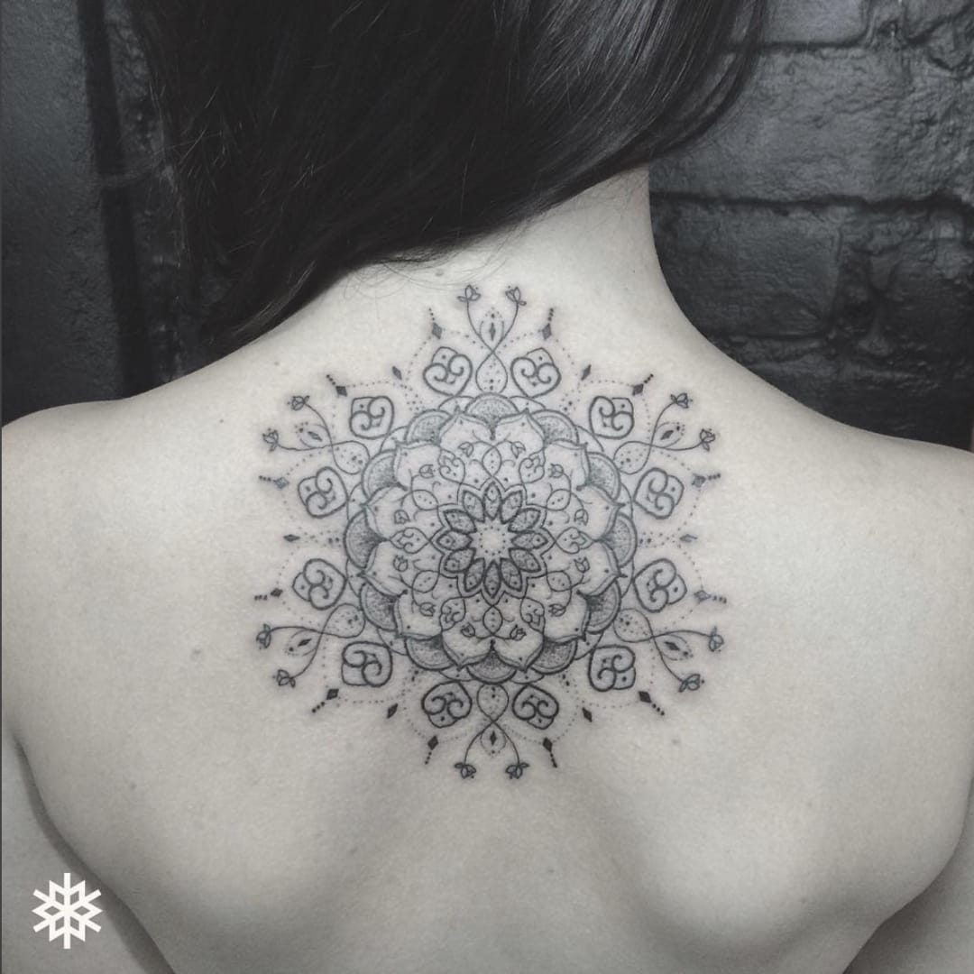 Dotwork And Geometric Linework Tattoo Collection Of Allan Tattooer