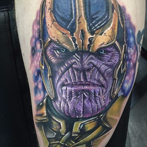Death and Destruction: 15 Powerful Thanos Tattoos