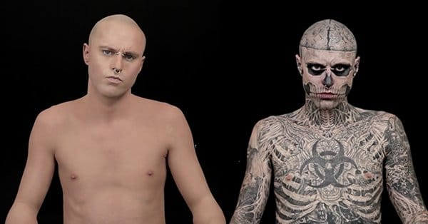 Zombie Boy...without tattoos?!