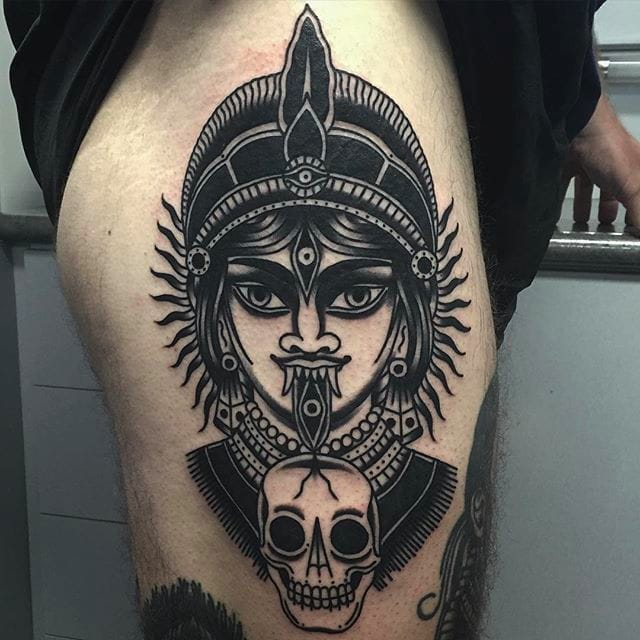 Demons and Deities: Awesome Black Tattoos by Aaron J Murphy