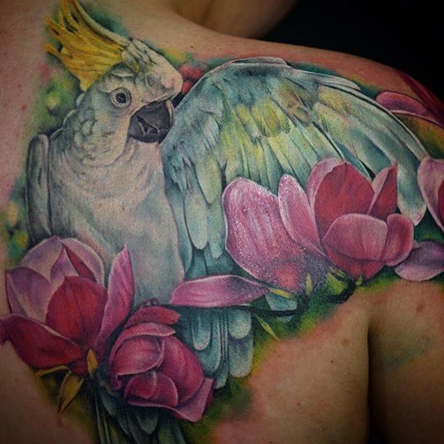 Vivid Color Realism Tattoos by Maija Arminen
