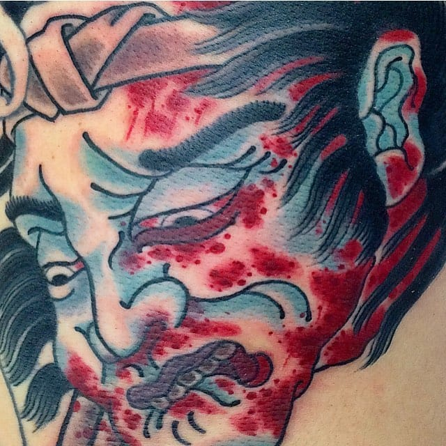 Ben O'Grady's Powerful and Bold Japanese Style Tattoos