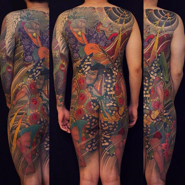 Magnificent Japanese Tattoos by Jun Teppei